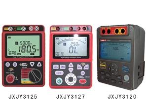 JXJY3125/3127/3120 绝缘电阻测试仪
